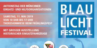 BLAULICHT-FESTIVAL der Münchner Hilfs- und Einsatzorganisationen am 11.Mai 2019