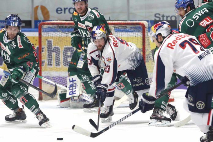 EHC Red Bulls unterliegen in Augsburg