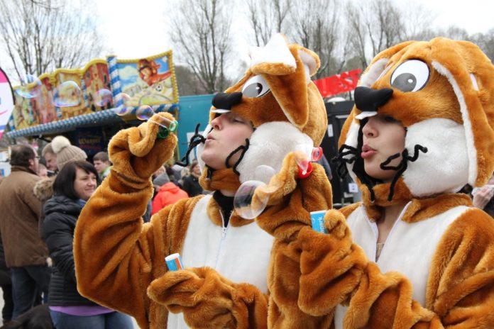 Die besten Osterhasen der Stadt hoppeln im Olympiapark