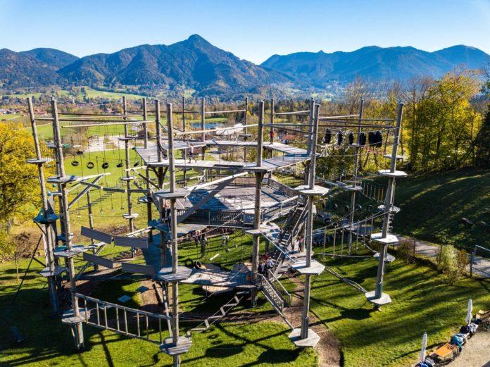 Mehr als Klettern: Hochseilgarten Isarwinkel wird zum Hotspot für Yogis und Luftakrobaten