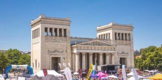 10. Münchner Sportfestival am 7. Juli 2019 am Königsplatz