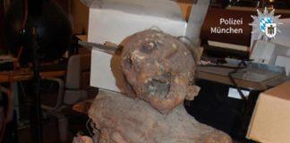 Mumienattrappe sorgt für Polizeieinsatz