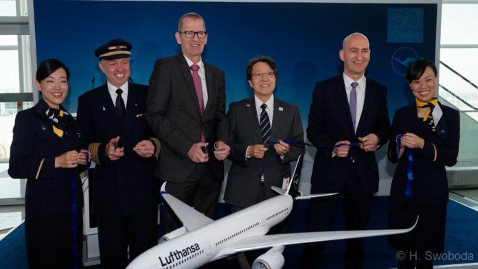 Neue Nonstopverbindung von München nach Osaka