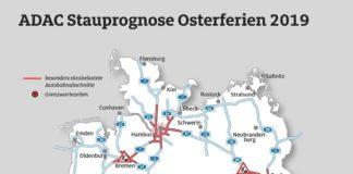 Acht Bundesländer starten in die Osterferien - Stauprognose für 12. bis 14. April 2019