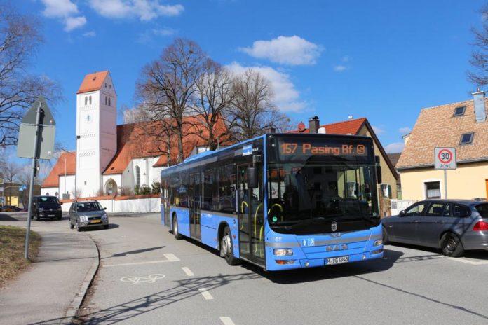Neue Verbindung im Westen: StadtBus 157 zwischen Aubing-Ost, Westkreuz und Pasing Bf.