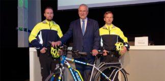 Bayerns Innen- und Sportminister Joachim Herrmann setzt sich für den Ausbau des Radverkehrs ein