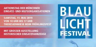BRK Kreisverband München auf dem Blaulichtfestival 2019 auf der Theresienwiese