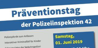 Präventionstag der Polizeiinspektion 42