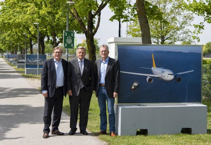 """Ausstellung """"Up and away – 50 Jahre Airbus"""