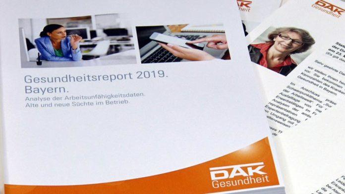 Sucht 4.0 in Bayerns Arbeitswelt - Betroffene fehlen doppelt so häufig