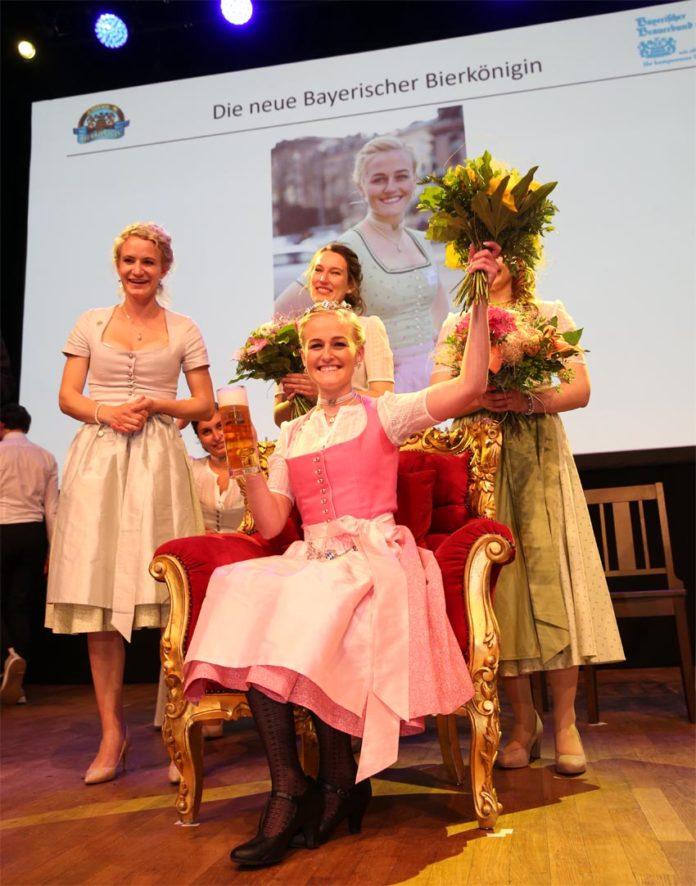 Veronika Ettstaller aus Gmund am Tegernsee ist Bayerische Bierkönigin 2019/20