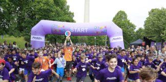 """""""Kinder laufen für Kinder"""" ist am 5. Juni 2019 wieder in München am Start"""