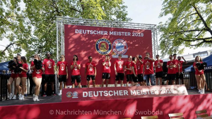 FC Bayern Basketball Meisterfeier 2019