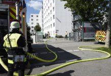 Zimmerbrand in Pasing