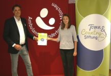 Die Stiftung Ambulantes Kinderhospiz München wird mit 1.000 Euro durch die Town & Country Stiftung gefördert