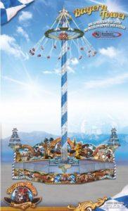 """Kettenflieger """"Bayern Tower"""""""