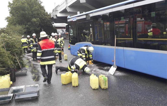 Sendling: Busunfall mit schweren Folgen