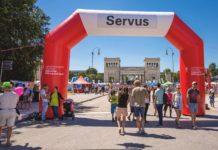 10. Münchner Sportfestival am 7. Juli 2019 auf dem Königsplatz