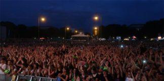Sommer, Sonne, OBEN OHNE Open Air 2019 - 20.000 junge Musik-Fans feiern am Königsplatz