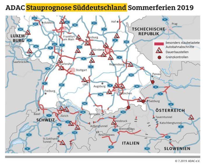 Ferienbeginn in Bayern, Fahrverbote in Österreich