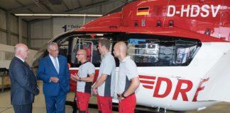 Bayerns Luftrettung gilt als Spitzenreiter: Innenminister Herrmann betont deren Bedeutung für die Notfallrettung