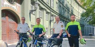 """Schwerpunkttag """"Radverkehr in München"""" beim Polizeipräsidium München"""