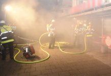 Schleißheimer Straße: Feuer in Wäscherei