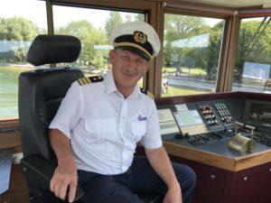 Ammersee-Kapitän Helmut Diller