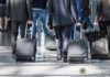 Lassen Sie Gepäck nicht unbeaufsichtigt
