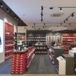 Sportfläche im neuen Flagship Store von DEICHMANN in München