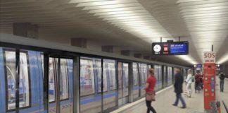 Pilotprojekt für Bahnsteigtüren am Olympiazentrum