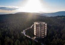 Neueröffnung: Erster Baumwipfelpfad Pohorje in Slowenien