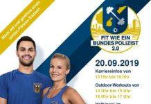 """""""Fit wie ein Bundespolizist 2.0"""" – Work-outs für jedermann im Münchner Olympiapark"""