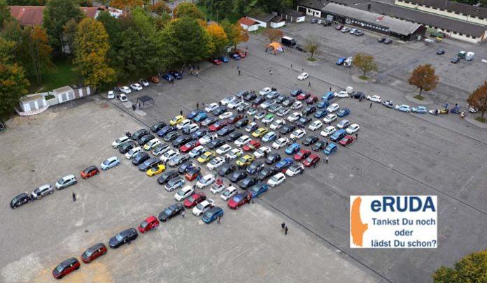 eRUDA - Größte eMOBIL Rallye Deutschlands mit mehr als 150 eFahrzeugen