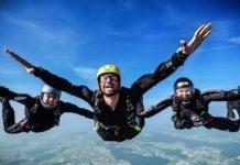 Ultimativer Adrenalinrausch beim Jochen Schweizer Solo-Fallschirmsprung