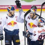 Der EHC Red Bull München gewinnen in der Hauptstadt