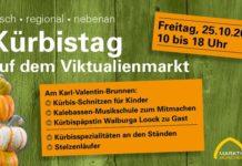 Kürbistag auf dem Viktualienmarkt München