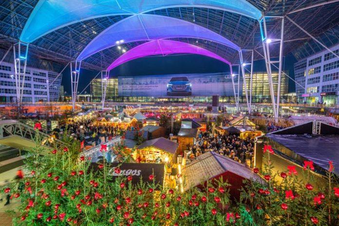 Flughafen München lädt zum Weihnachts- und Wintermarkt ein