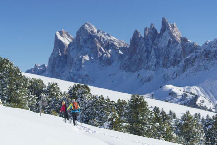 Weihnacht über den Wolken im Herzen der Dolomiten