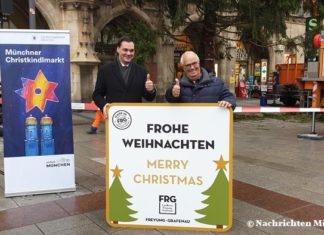Der neue Christbaum aus Freyung-Grafenau steht