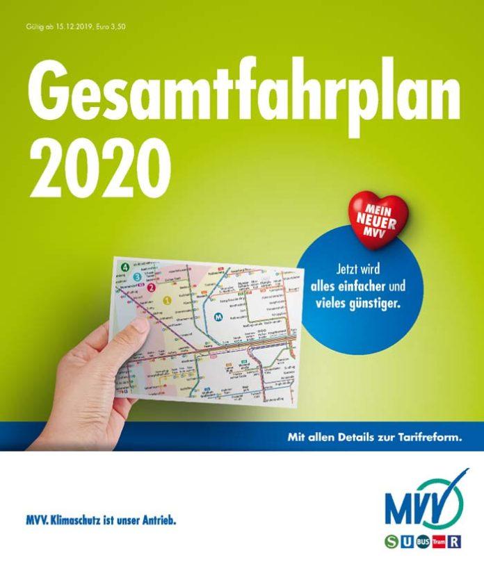 Verbesserungen und Änderungen im MVV-Verbundraum zum Fahrplanwechsel am 15. Dezember 2019