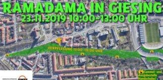 Giesinger RamaDama – am 23.11.19 für ein sauberes Giesing