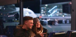 Lichterfahrten durch die stimmungsvolle Atmosphäre der Münchner Flughafenwelt