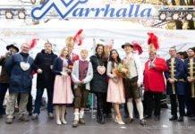 Narrhalla Faschingsprinzenpaare 2020 vorgestellt