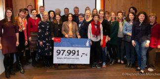 Ein Herz für München - Wiesnwirtestiftung hilft mit knapp 100.000 Euro