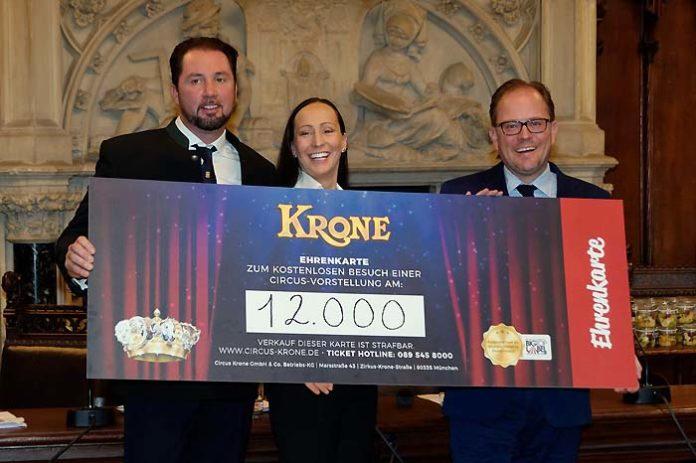 Circus Krone: 12.000 Freikarten für Bedürftige