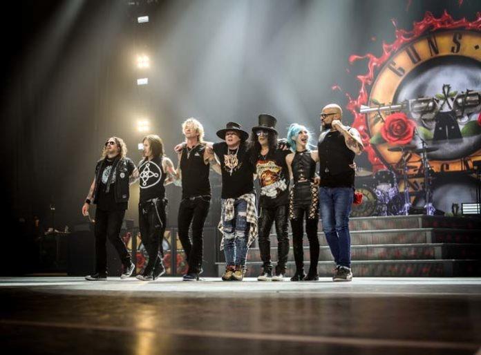 Guns N' Roses live am 26.05.2020 im Olympiastadion München