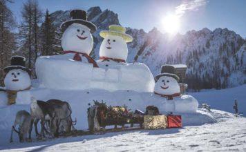 3 Zinnen Dolomiten deckt auf - Die geheime Weihnachts-Ski-Geschichte