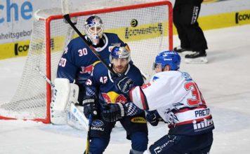 EHC Red Bull München unterliegen Mannheim