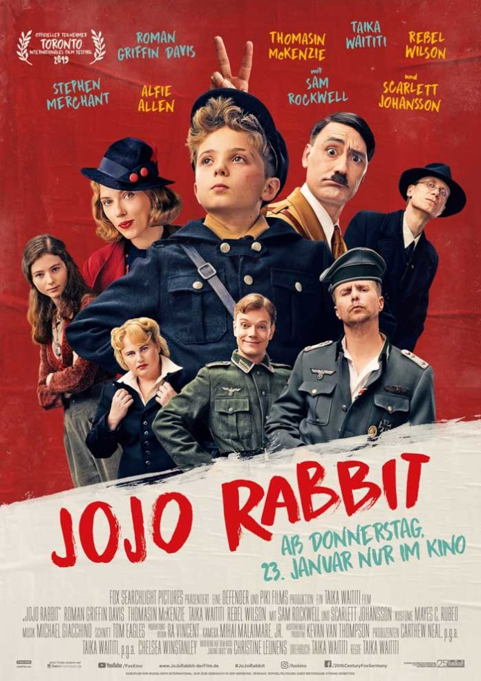 Jojo Rabbit - Kinostart: 23.01.2020